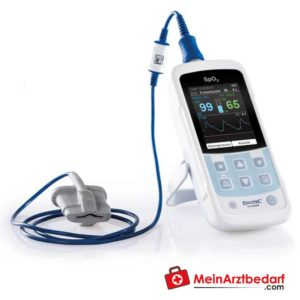 The MySign S pulse oxymeter is used for non-invasive vitality value measurement.
