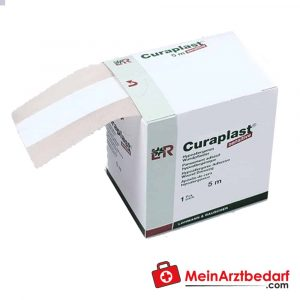 The Curaplast Sensitive 5 meter wound quick bandage is used to care for minor (cut) injuries in everyday life.