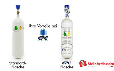 What do you need to consider when purchasing medical oxygen bottles?